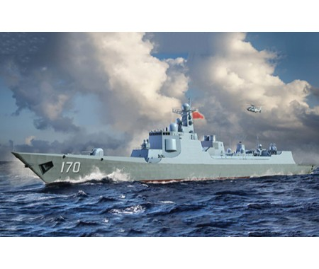 Trumpeter - 06730 - PLA Navy Type 052C Destroyer  - Hobby Sector
