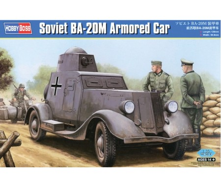 Hobby Boss - 83884 - Soviet BA-20M Armored Car  - Hobby Sector