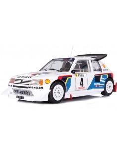 IXO - 18RMC049B - Peugeot 205 T16 Evo 2 J. Kankkunen Rallye Monte Carlo 1986  - Hobby Sector