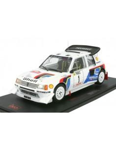 IXO - 18RMC049A - Peugeot 205 T16 Evo 2 T. Salonen Rallye Monte Carlo 1986  - Hobby Sector