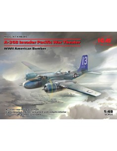 ICM - 48285 - A-26B Invader Pacific War Theater  - Hobby Sector