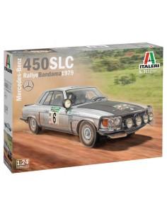 Italeri - 3632 - Mercedes-Benz 450 SLC Rallye Bandama 1979  - Hobby Sector