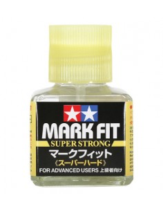 Tamiya - 87205 - Mark Fit (Super Strong) for Decals - 40ml  - Hobby Sector
