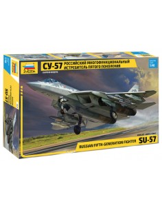 Zvezda - 4824 - SU-57 Russian Fifth Generation Fighter  - Hobby Sector
