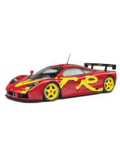 Solido - S1804102 - McLaren F1 GTR Short Tail Launch Livery 1996  - Hobby Sector