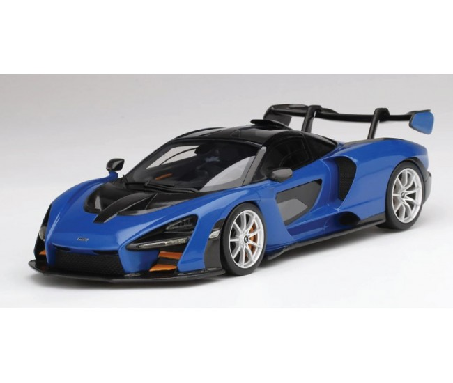 TopSpeed - TS0248 - McLaren Senna Antares Blue  - Hobby Sector
