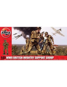 Airfix - WWII British Infantry Support Group