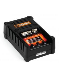 HPI-Racing - 118051 - Carregador Reactor 200 Para LiPo/LiFe 2S-3S e NiMh/NiCd - Conectores Tamiya e Deans  - Hobby Sector