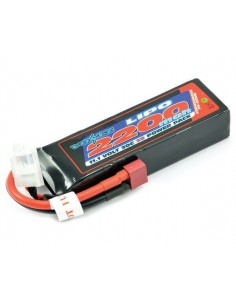 Voltz - VZ0422003SXT60 - 11,1V 2200mAh 3S LiPo 30C VOLTZ - Conector Deans  - Hobby Sector