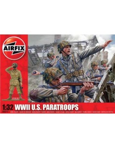 Airfix - WWII U.S. Paratroops