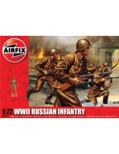 Airfix - WWII Russian Infantry