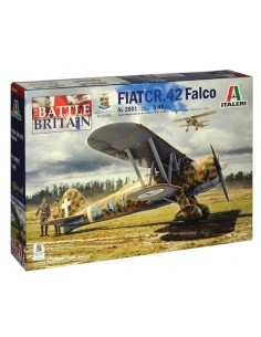 Italeri - 2801 - Fiat CR.42 Falco  - Hobby Sector