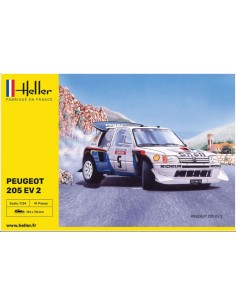 Heller - 80716 - Peugeot 205 EV 2  - Hobby Sector