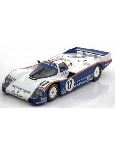 Norev - 187404 - PORSCHE 962 C Winner Le Mans 1987  - Hobby Sector