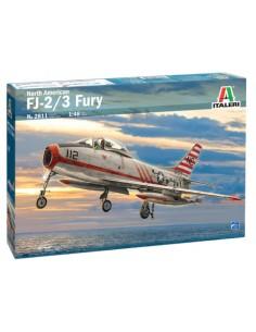 Italeri - 2811 - North American FJ-2 / 3 Fury  - Hobby Sector