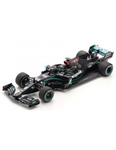 Spark - 18S483 - Mercedes-AMG W11 EQ F1 Lewis Hamilton Winner British GP 2020  - Hobby Sector