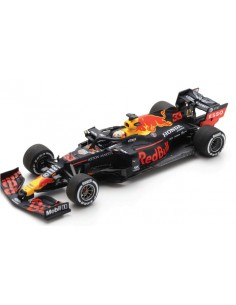 Spark - S6479 - Aston Martin Red Bull Racing RB16 F1 M. Verstappen Winner GP Silverstone 2020 70th Anniversary  - Hobby Sector