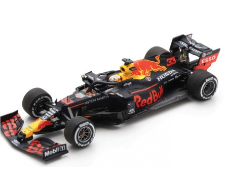 Spark - S6479 - Aston Martin Red Bull Racing RB16 F1 M. Verstappen Winner GP Silverstone 2020 70th Anniversary  - Hobby Sector