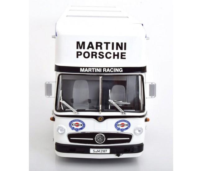 CMR - CMR154 - Mercedes-Benz O 317 Race Car Transporter Porsche Martini Racing  - Hobby Sector