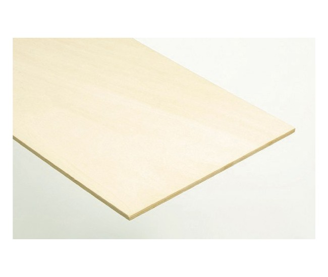 Billing Boats - BW1064 - Plywood - Wood Sheet (1 pc) 2x100x450mm  - Hobby Sector