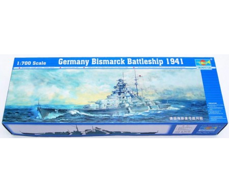 Trumpeter - 05711 - Germany Bismark Battleship 1941  - Hobby Sector
