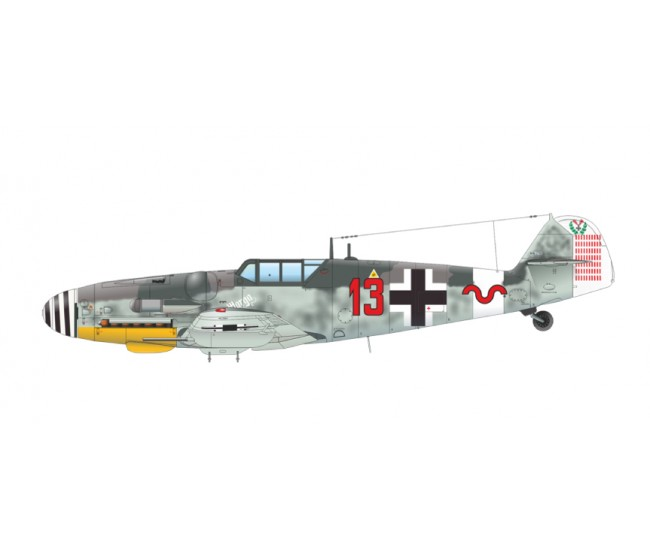 Eduard - 84173 - BF 109G-6 - Weekend Edition  - Hobby Sector