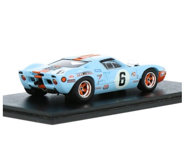 Spark - 43LM69 - Ford GT 40 J. Ickx / J. Oliver Winner 24H Le Mans 1969  - Hobby Sector