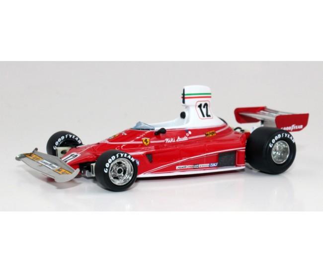 GP Replicas - GP43-04A - Ferrari 312 T F1 Niki Lauda World Champion 1975  - Hobby Sector