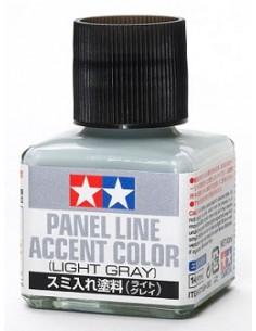 Tamiya - 87189 - Tamiya Panel Line Accent Color - Light Gray  - Hobby Sector