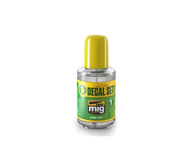MIG - A.MIG-2029 - Ultra Decal Set - 30ml  - Hobby Sector