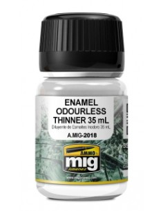 MIG - A.MIG-2018 - Enamel Odourless Thinner 35ml  - Hobby Sector