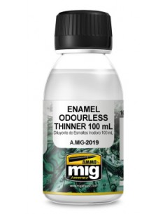 MIG - A.MIG-2019 - Enamel Odourless Thinner 100ml  - Hobby Sector
