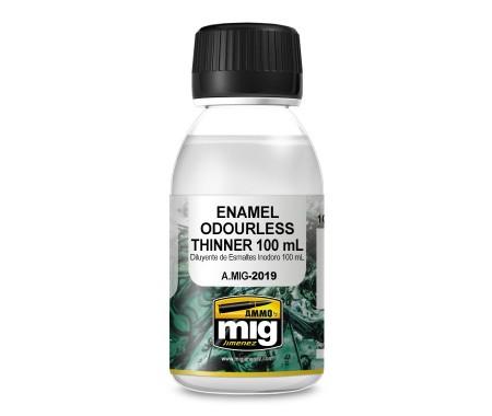 MIG - A.MIG-2019 - Enamel Odourless Thinner 100ml  - Hobby Sector