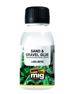MIG - A.MIG-2012 - Sand & Gravel Glue 100ml  - Hobby Sector