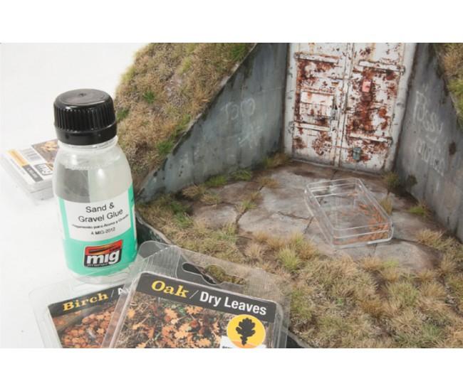 MIG - A.MIG-2012 - Sand & Gravel Glue 100ml  - Hobby Sector