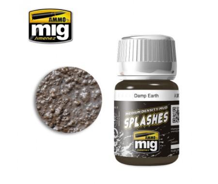 MIG - A.MIG-1754 - Splashes - Damp Earth  - Hobby Sector