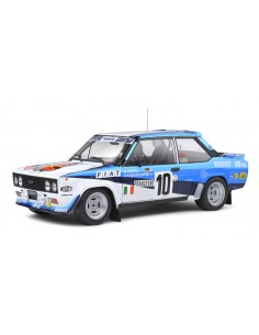 Solido - S1806001 - Fiat 131 Abarth W.Rohrl Rallye Monte Carlo 1980  - Hobby Sector