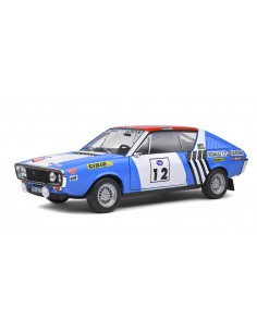 Solido - S1803703 - Renault 17 J.L. Therier Winner Rallye Press On Regardless 1974  - Hobby Sector