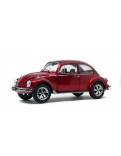 Solido - S1800512 - Volkswagen Beetle 1303 Custom Metallic Red  - Hobby Sector