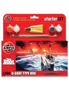 Airfix - Das Boot U-Boat Type VIIC Starter Set