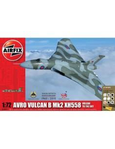 Airfix - Avro Vulcan B Mk2 XH558: Vulcan To The Sky Gift Set