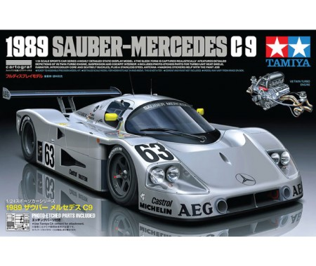 Tamiya - 24359 - Sauber-Mercedes C9 Winner 24h Le Mans 1989  - Hobby Sector