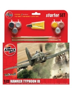 Airfix - Hawker Typhoon IB Starter Set