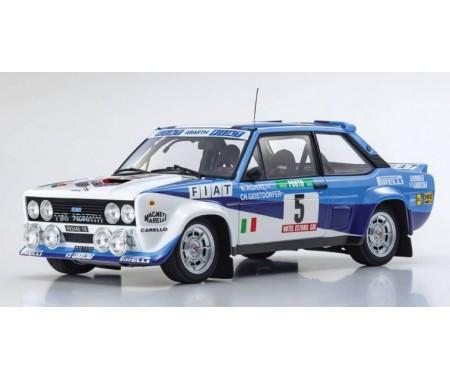 Kyosho Diecast - 08376A - Fiat 131 Abarth W. Röhrl Winner Rallye Portugal 1980  - Hobby Sector