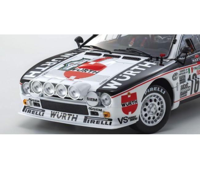 Kyosho Diecast - 08306C - Lancia 037 Gianfranco Cunico Rally Costa Smeralda 1983  - Hobby Sector