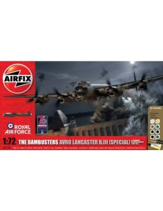 Airfix - The Dambusters Avro Lancaster B.III (Special) Gift Set