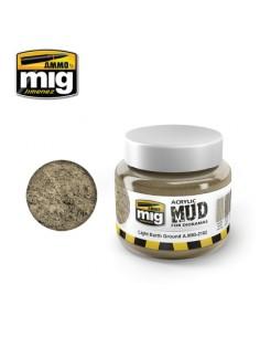 MIG - A.MIG-2102 - Acrylic Mud - Light Earth Ground  - Hobby Sector
