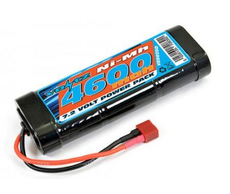 Voltz - VZ0020D - 7.2V 4600Mah NiMH Deans Plug  - Hobby Sector