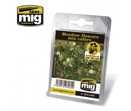 MIG - A.MIG-8460 - Meadow Flowers Mix Colors  - Hobby Sector