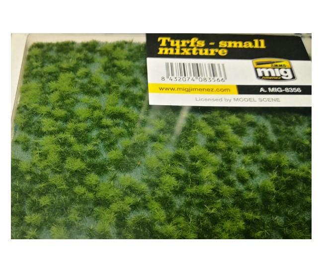 MIG - A.MIG-8356 - Turfs - Small Mixture  - Hobby Sector